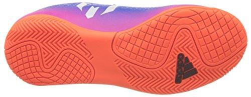 adidas Messi 16.4 in J, Scarpe da Calcio Unisex – Bambini Blu (Blue/ftw White/solar Orange)