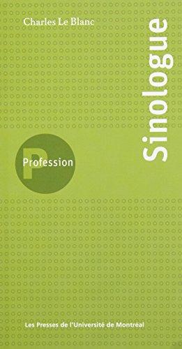 Profession Sinologue