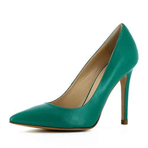 Evita Shoes Alina, Scarpe col tacco donna Verde