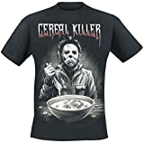 Halloween Michael Myers - Cereal Killer T-Shirt Black