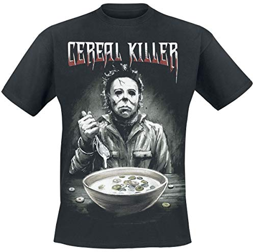 Halloween Michael Myers - Cereal Killer T-Shirt schwarz L