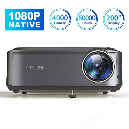 Beamer Full HD 1080P Native, 4000 Lumen Max 200