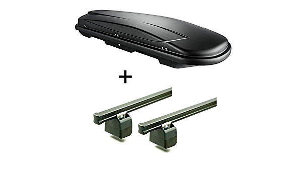 Vdp Dachbox Vdpjuxt600 Liter Abschließbar Aurilis Pro Dachgepäckträger Kompatibel Mit Citroen Jumper Ab 2006 Auto