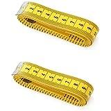 Viskey 150cm 152.4cm Règle pour Tailleur /Couture /Chiffon Mesure - Jaune