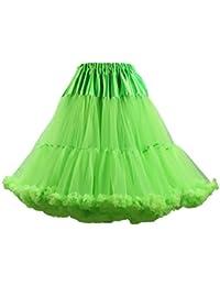 c288ab64840 Mujer Tutu Petticoat Adulto De Lujo Suave Múltiples Capas Una Línea Vintage  Ropa Dama Moda Fashionista Ballet…