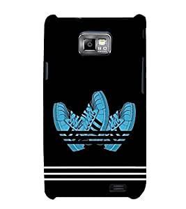 Fuson Designer Back Case Cover for Samsung Galaxy S2 I9100 :: Samsung I9100 Galaxy S Ii (Shoes Walking Shoes Stylish Modern Sports Shoes)