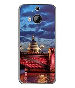 PrintVisa Designer Back Case Cover for HTC ONE M9+ (dashing look of old monument)