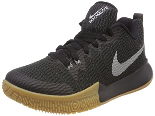 Nike Wmns Zoom Live II, Scarpe da Fitness Donna, Nero (Black/Reflect Silver 001), 40 EU