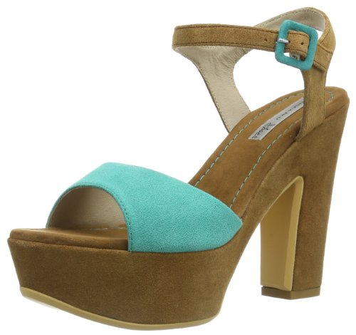Tosca Blu Shoes OLIVE, Sandali donna, Verde (Grün (VERDINO C43)), 40