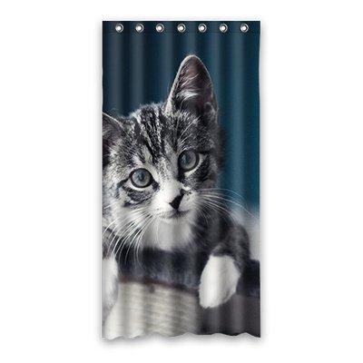 Dalliy buffo gatto costume tenda della doccia shower curtain 90cm x 183cm