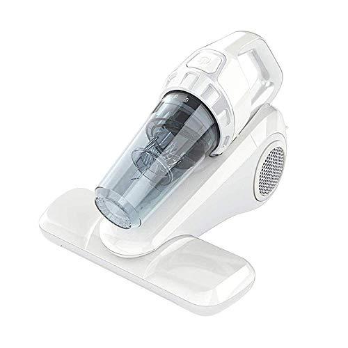 ROZI Milben-Handstaubsauger 10KPa, Staubsauger mit HEPA Filter, Starke Saug UV Licht Entfernt Hausstaubmilben Bettwanzen für Kissen, Tücher, Sofas (300W)