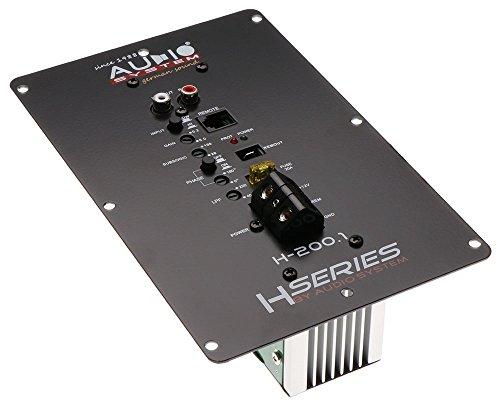 Audio System H200.1-1-Kanal Einbaumodulverstärker Digitaler Mono Hochleistungsverstärker mit SMD Technologie (Smd Car Audio)
