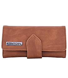 Fantosy Tan Womens Wallet (Tan)(FNWC-193)