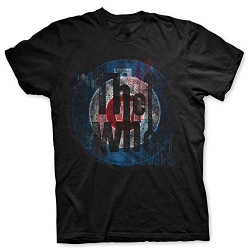 The Who - Rock Off Officially Licensed - T-Shirt Camiseta Vintage...
