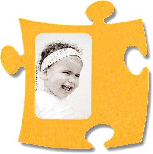 Country Living Marco Puzzle de madera–1fotos 9x 13cm–amarillo