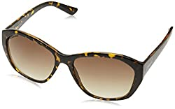 Fastrack UV Protected Square Womens Sunglasses - (P372BR3F|56|Brown Color)
