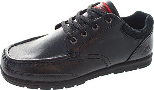 kappa-sandies-zapatos-de-cordones-de-piel-para-nino-negro-negro-color-negro-talla-37-eu