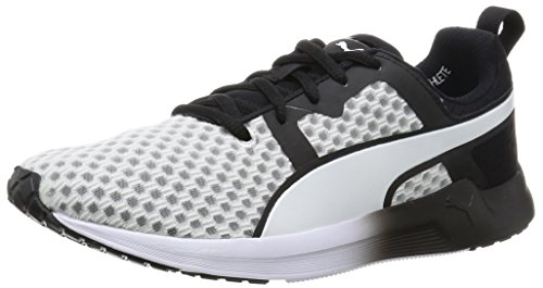Puma Pulse XT Core, Damen Hallenschuhe, Fitnessschuhe, White/Black, 41 EU