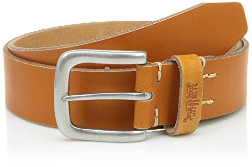 LEVIS FOOTWEAR AND ACCESSORIES Icon Ceinture, Marron (Light Brown), (Taille Fabricant: 100) Homme
