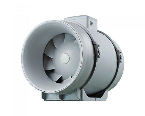 Lüfter TT Pro Serie Belüftung/Entlüftung mit einem Luftsammler Rohrlüfter Einschublüfter Rohrventilatoren/Zwischenlüfter/Kanalventilator Lüfter geräuscharm und stark/Zweistufenmotor (100) -