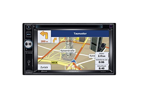 Audiovox VXE 7020 NAV 15,7 cm (6,2 Zoll) Widescreen Navigation/Multimedia-Receiver (DAB Ready) Audiovox Ipod