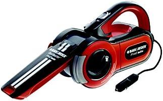 Black + Decker PAV1205-XJ Auto-Handsauger, 12 Volt / 11 Watt, Schwarz/Orange/Weiß