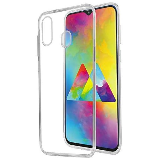 - 41GKqnUzCML - Casotec Soft TPU Back Case Cover for Samsung Galaxy M20 – Clear