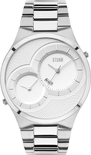 Storm London DUODEX 47268/S Montre-Bracelet pour hommes Deuxième Fuseau Horaire