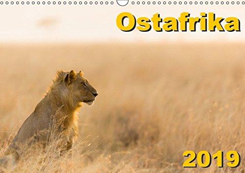 Ostafrika (Wandkalender 2019 DIN A3 quer): Landschaften und Tiere aus Kenia und Tansania (Monatskalender, 14 Seiten ) (CALVENDO Natur)