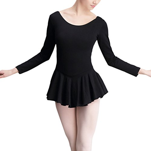 Zhhlinyuan Ladies Gymnastic Tutu Skirt Girls Leotard Quality Lycra Cotton Ballettkleid Dance Dress 4591# -
