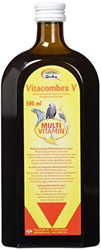 Quiko Combex V - Multivitaminsaft für Kanarien, Sittiche, Papageien und Ziervögel, 1er Pack (1 x 500 ml)