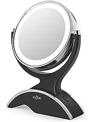 Amazonfr Miroir Lumineux Miroirs De Poche Accessoires De