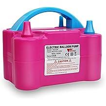Amzdeal® Pompa elettronica per gonfiaggio palloncini. Ideale per feste e