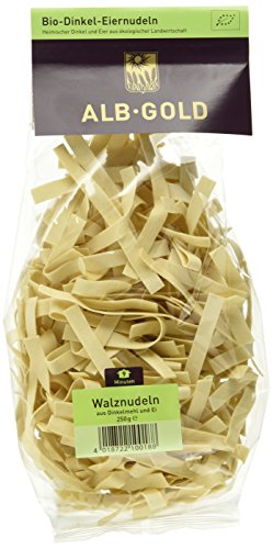 Alb-Gold Dinkel-Walznudel 8 mm, 6er Pack (6 x 250 g Packung)