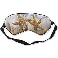 Starfish Pattern Sleep Eyes Masks - Comfortable Sleeping Mask Eye Cover For Travelling Night Noon Nap Mediation... preisvergleich bei billige-tabletten.eu