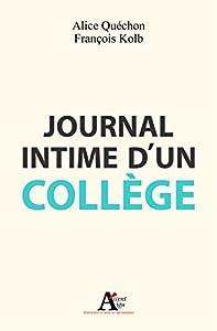 """Afficher """"Journal intime d'un collège"""""""
