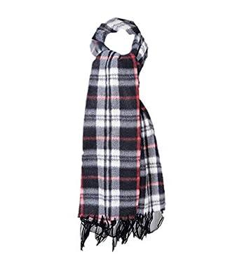 Krystle Prime Unisex Fleece Checkered Muffler