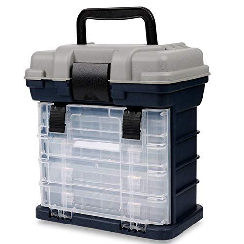 BAODANH Tragbare mehrschichtige Fischköder Container Box langlebig Angelgerät Aufbewahrungskoffer