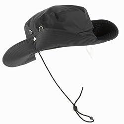 QUECHUA Forclaz Waterproof Hiking Hat, Black