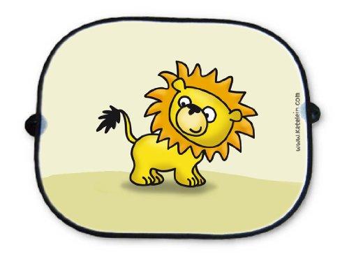 Auto Sonnenschutz - Löwe - Sonnenblende Schattenspender Baby Kinder