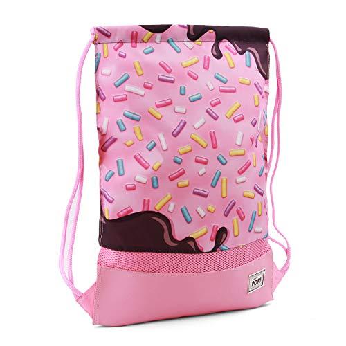 Oh My Pop Pop! Sprinkles-Storm Drawstring Bag Turnbeutel, 48 cm, Pink