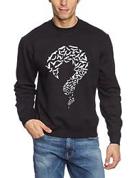 Touchlines Herren Pullover - Bat Question Sweatshirt