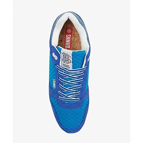 Blue Royal Bleu Di Il Djinn Tennis Denim Homme Mode Mesh Man Baskets Denim Djinns Da Maglia Scarpe Per Modo Reale Della Pour nSqUagWR