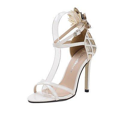 LFNLYX Donna tacchi Primavera / Estate / Autunno / Inverno Gladiator / Comfort / Novità Nozze in similpelle / Party & sera abito / / Casual White