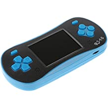 MagiDeal RS-16 2.5inch Handheld Video Game Console Built In 260 Classic Games + Screwdriver And Screw Blue
