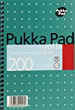 Pukka Jotta Pad A5 80gsm Ruled With Margin Wirebound 200 Pages 100 Sheets - Color: Metallic