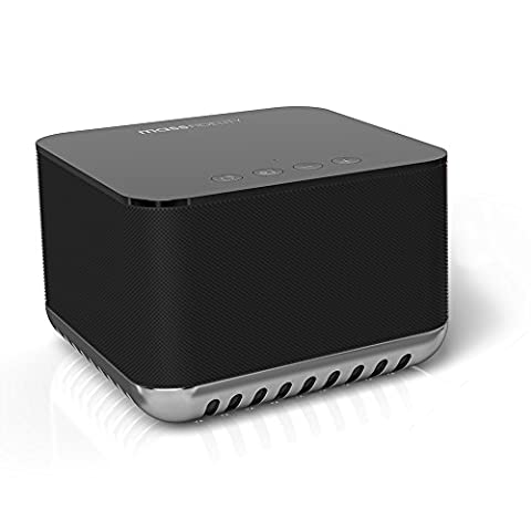 Mass Fidelity Core Hi-Fi Bluetooth Speaker Black