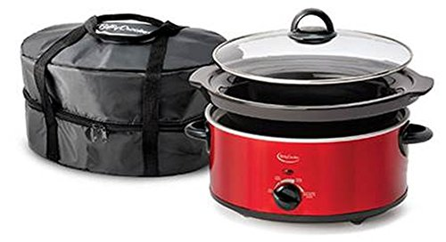 4C 5-Quart Oval Slow Cooker with Travel Bag (Betty CrockerBC-1544C ) by Betty Crocker ()
