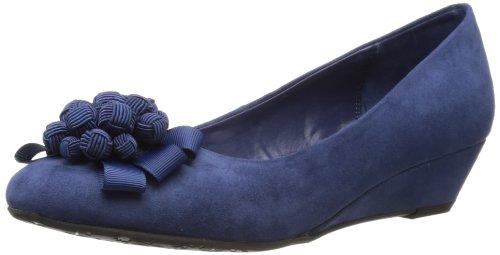 Lunar Flv558, Sandales femme Bleu (Navy)