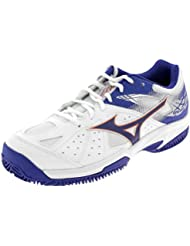 promo code 692b3 f75b6 Mizuno Break Shot 2 CC, Chaussures de Tennis Homme, Blanc (White Reflex